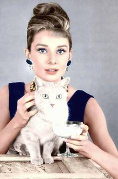 Audrey Hepburn repinned by StoneArtUSA.com ~ affordable custom pet memorials…