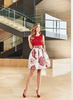 vestidos sonia p ena Skirt Outfits, Dress Skirt, Cool Outfits, Dress Up, Girl Fashion, Fashion Dresses, Womens Fashion, Pretty Dresses, Beautiful Dresses