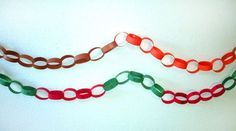 Holiday paper chain  MATH project ... fun project to reinforce math concepts!