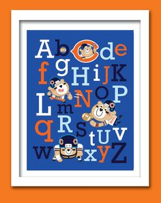 Hey, I found this really awesome Etsy listing at http://www.etsy.com/listing/155758111/chicago-bears-football-alphabet-18-w-x