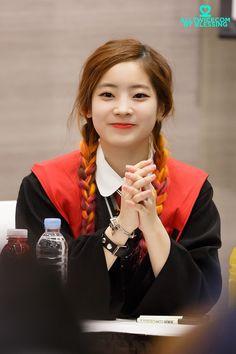 """TWICE • Dahyun """"Once a fan, twice the fun!"""" :) #Kpoplove #JYP #Idols"""