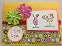 Stampin Up! Cheers to You birthday card