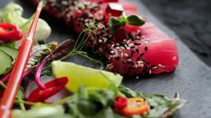 rōzu Sushi Lounge Sushi, Lounge, Japanese, Ethnic Recipes, Food, Gourmet, Japanese Salad, Koken, Airport Lounge
