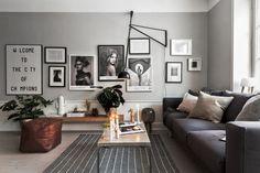 Dit prachtige appartement in Zweden is ingericht door Scandinavian Homes. Het appartement heeft een oppervlakte van 52 m2. De verschillende ruimtes zijn ge
