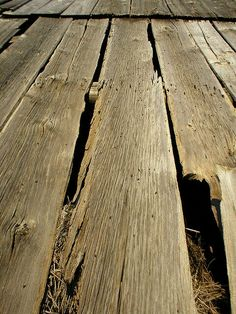 Old Wooden Floor Boards