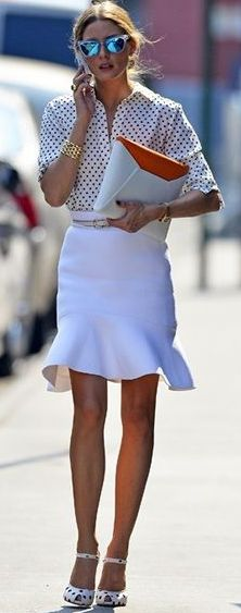 Olivia Palermo...she's always so put together. I'd love to have access to her closet!