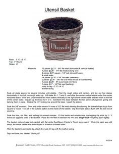 Utensil_Basket.pdf - Joanna's Collections free pattern for March 2014