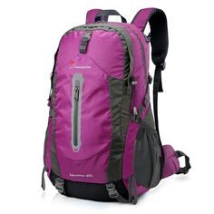 Mardingtop 45L Water-resistant Hiking Daypack/Camping Backpck/Travel Daypack/Casual Backpack for Outdoor Climbing School-5458 -- This is an Amazon Affiliate link. For more information, visit image link.