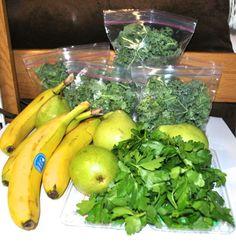 St. Patty's Day Detox   Banana Kale Smoothie