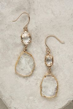 Slide View: 1: Reflection Drop Earrings