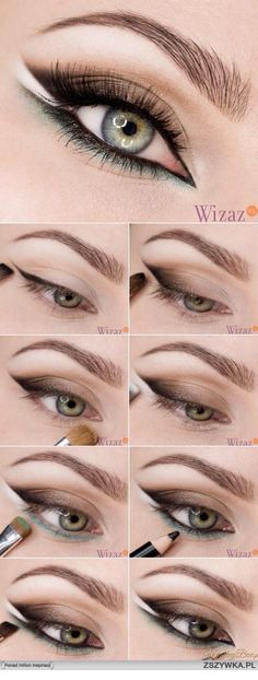58 Trendy Makeup Tutorial Eyeliner Make Up Eye Makeup Tips, Makeup Inspo, Makeup Inspiration, Glamouröses Makeup, Makeup Ideas, Eyeshadow Makeup, Contouring Makeup, Glitter Eyeshadow, Makeup Geek