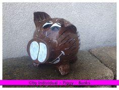 Sparschwein Wildschwein Geldgeschenk Geschenkebox Box Wunschaufschrift & Motiv