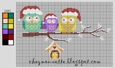 Chez Mounette: point de croix : diagramme - Point de croix - Blog : http://broderiemimie44.canalblog.com/