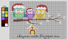 Chez Mounette: point de croix : diagramme - Point de croix - Blog : http://broderiemimie44.canalblog.com/
