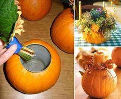 Get crafty with pumpkins :)