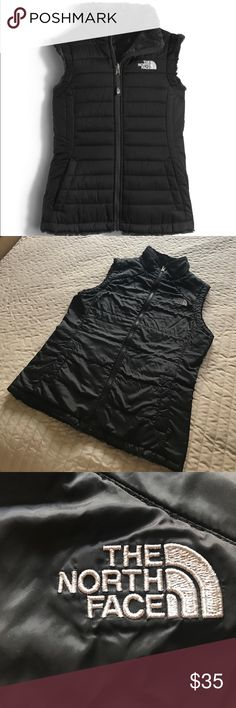 The North Face Reversible Vest The North Face reversible vest size xs The North Face Jackets & Coats Vests