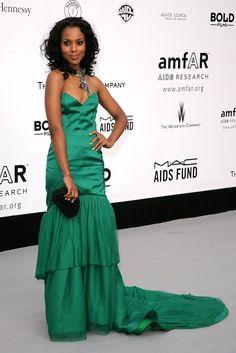 Kerry Washington Photo - Cannes - Arrivals At Cinema Against AIDS Benefiting amfAR (2007)
