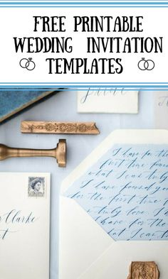 Take a look at our totally gorgeous free wedding invitations invitation templates!