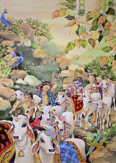 Lord Krishna Images, Radha Krishna Images, Krishna Pictures, Krishna Photos, Señor Krishna, Krishna Flute, Krishna Leela, Krishna Drawing, Krishna Painting