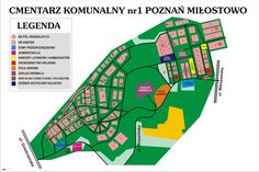 Mapa cmentarza   Universum Poznań