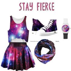 galaxy is world were you wanna be by maddylocke on Polyvore featuring art and yoins