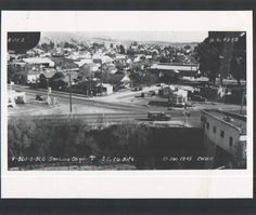 San Luis Obispo California Marsh St and Higuera St - view from Hwy From the City of San Luis Obispo Public Works page. San Luis Obispo California, San Luis Obispo County, Arroyo Grande, Morro Bay, Central Coast, 1940s, Growing Up, Paris Skyline