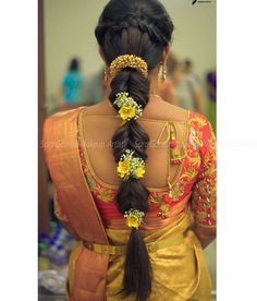 ideas hair black color makeup tutorials wedding engagement hairstyles 2019 - wedding and engagement 2019 Saree Hairstyles, Indian Bridal Hairstyles, Braided Hairstyles For Wedding, Bride Hairstyles, Trendy Hairstyles, Wedding Hairdos, Wedding Braids, Modern Haircuts, Bridal Hairstyle Indian Wedding