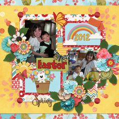 {Spring Things} Digital Scrapbooking Collab by The Gingerbread Ladies March 2018 GS FWP http://store.gingerscraps.net/GingerBread-Ladies-Collab-Spring-Things.html and {Amazing Year April 1} by Tinci Designs http://store.gingerscraps.net/Amazing-year-April-1..html