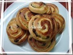 Cocina con Nora (cocina marroquí): Schnecks con crema y pepitas de chocolate