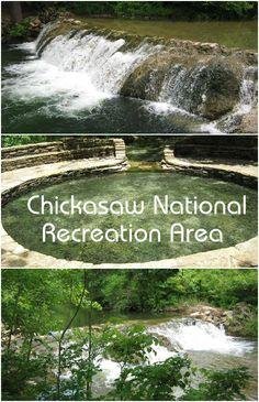 The Chickasaw National Recreation Area in Sulphur, Oklahoma has been a popular summer swimming hole for generations. Fed by a natural spring, the water is cold and refreshing.