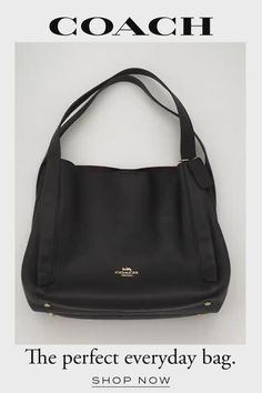 Coach Purses, Purses And Bags, The New Classic, Coach Leather Cleaner, Everyday Bag, Leather Design, Pebbled Leather, Gym Bag, Travel Wardrobe