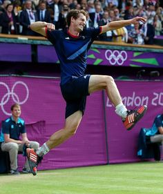Andy Murray, Olympics: This is the celebration we wanted to see from Murray, and we finally got it at the Olympics.