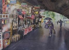 Gabrielle Moulding - Under the Tracks, Ginza