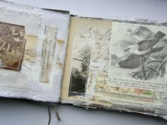 The Studio of Tina Jensen: Mixed Media Art Book