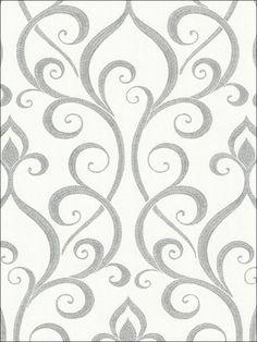 wallpaperstogo.com WTG-110648 Beacon House Interiors Transitional Wallpaper