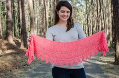 small shawl knitted from end to end - on ravelry