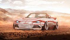 Luke Skywalker's Landspeeder-inspired Mazda MX-5