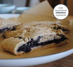 Whole grain blueberry breakfast roll #healthy #organic #recipe