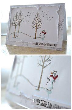 Pixie Scrap: Its cold outside -  Winterliche Weihnachtskarte