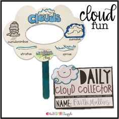 Teaching and learning about clouds can be SO fun! You kindergarten, first grade, and second grade kiddos will love analyzing the sky, identifying different kinds of clouds, and determining the weather based on their cloud knowledge. Here are some fun cloud science, literacy, and math activities to use while learning about clouds!