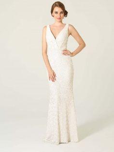 Lilly White Wedding Dress by Poseur. #bridal Buy at Sentani.com.au