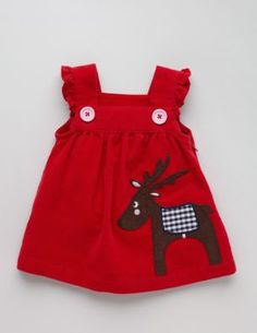 Discover our exciting range of baby dresses at Boden. Baby Girl Fashion, Toddler Fashion, Kids Fashion, Kids Outfits Girls, Baby Boy Outfits, Baby Boy Christmas Outfit, Pretty Little Dress, Kids Dress Patterns, Baby Dress Design