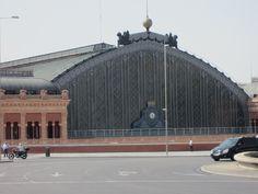 Station Atocha het grootste spoorwegstation van Madrid