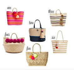 Add a bright color to your style with one of these six handbags!