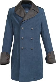 Musterbrand Assassin's Creed Men Coat Arno Blue at Amazon Men's Clothing store: