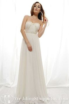 Eden Bridal Gown SL006 - Visit Wedding Shoppe Inc. for designer bridal gowns, bridesmaid dresses, and much more at http://www.weddingshoppeinc.com