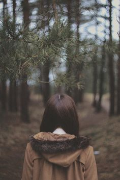 The woods... Anna by Annija Muižule, via Flickr