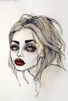 Frances Bean Cobain Art Print by Lucas David Kunst Inspo, Art Inspo, Aesthetic Drawing, Aesthetic Art, Posca Art, Grunge Art, Hippie Art, Wow Art, Art Hoe