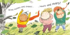Let's play out in the wind! There's a wealth of sights, sounds, smells, tastes and textures to discover and enjoy! WHATEVER THE WEATHER: WIND www.childs-play.com/bookshop/9781846436826.html