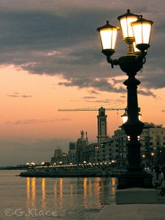✮ Lungomare Nazario Sauro - Bari, province of Bari , Puglia Southern Europe, Southern Italy, Places Around The World, Around The Worlds, Italian Street, Puglia Italy, Amazing Destinations, Italy Travel, Places To See